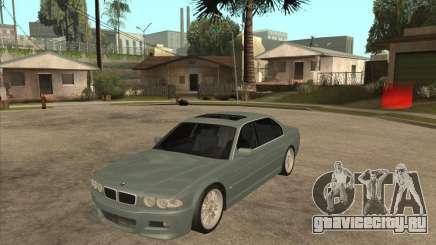 BMW E38 M7 для GTA San Andreas