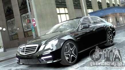 Mercedes-Benz E63 AMG для GTA 4