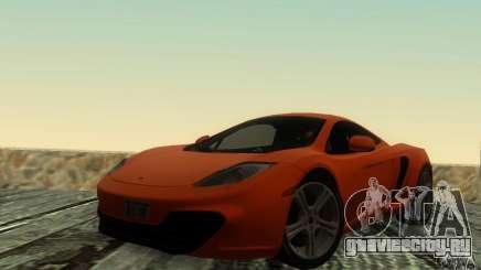 McLaren MP4-12C для GTA San Andreas