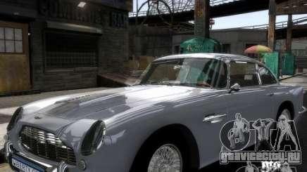 Aston Martin DB5 Vantage BETA для GTA 4