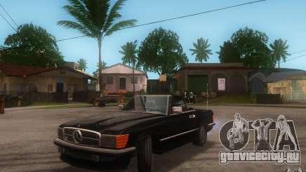 Mercedes-Benz 350 SL Roadster для GTA San Andreas