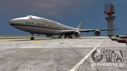 Real Emirates Airplane Skins Flagge для GTA 4