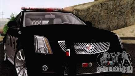 Cadillac CTS-V Police Car для GTA San Andreas