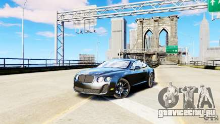 Bentley Continental SuperSports v2.5 (Без тонировки) для GTA 4