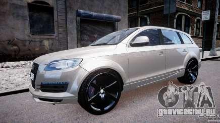 Audi Q7 LED Edit 2009 для GTA 4