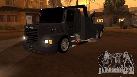 Scania 112H Gruas Fenix для GTA San Andreas