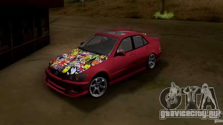 Lexus IS300 Hella Flush для GTA San Andreas