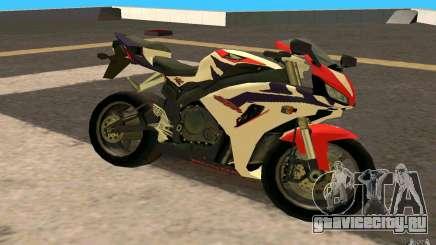 Honda Fireblade 1000RR для GTA San Andreas