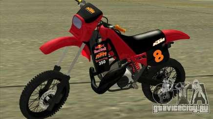 KTM 350 Redbull для GTA San Andreas