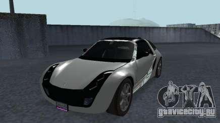 Smart Roadster Coupe для GTA San Andreas