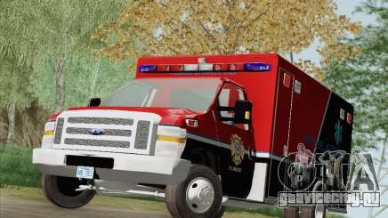 Ford E-350 AMR. Bone County Ambulance для GTA San Andreas