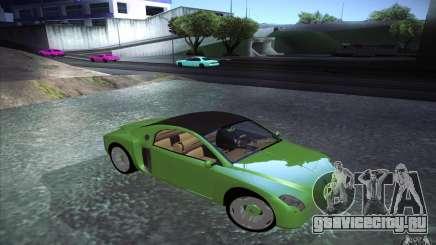 Renault Fiftie Concept для GTA San Andreas