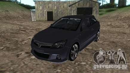Vauxhall Astra VXR серебристый для GTA San Andreas