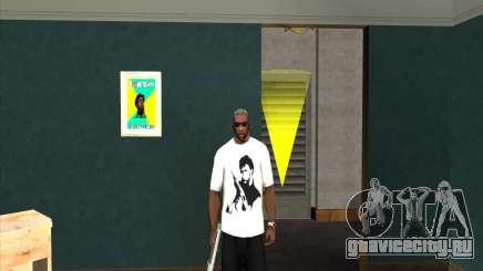 Футболка с Чаком Норрисом для GTA San Andreas