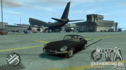 Jaguar XK E-type для GTA 4