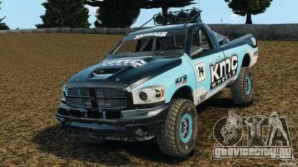 Dodge Power Wagon лазурный для GTA 4