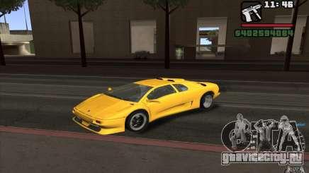 Lamborghini Diablo SV для GTA San Andreas