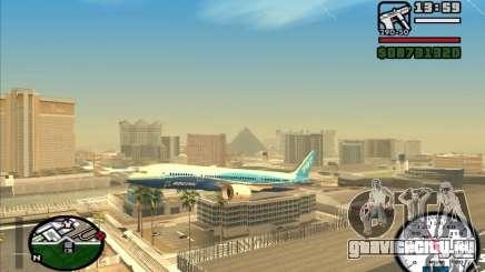 Boeing 787 Dreamlinear для GTA San Andreas