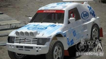 Mitsubishi Pajero Proto Dakar EK86 винил 3 для GTA 4