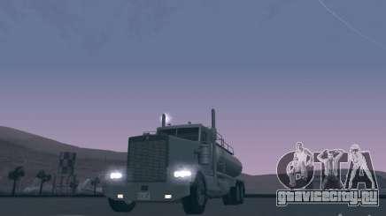 Kenworth Petrol Tanker для GTA San Andreas