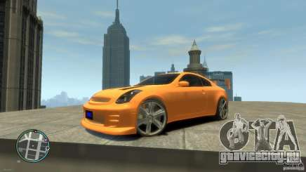 INFINITI G35 COUPE TUNNING для GTA 4