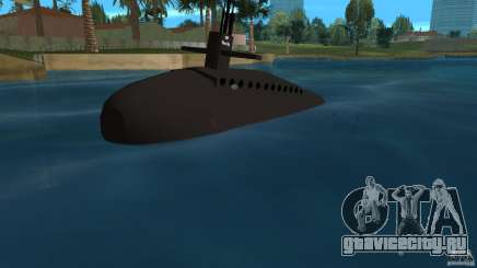 Vice City Submarine without face для GTA Vice City