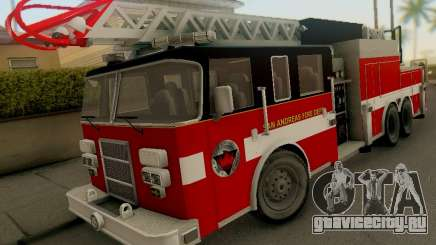 Pierce Firetruck Ladder SA Fire Department для GTA San Andreas
