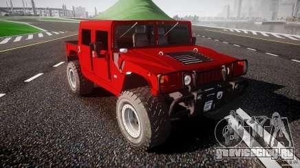 Hummer H1 4x4 OffRoad Truck v.2.0 для GTA 4