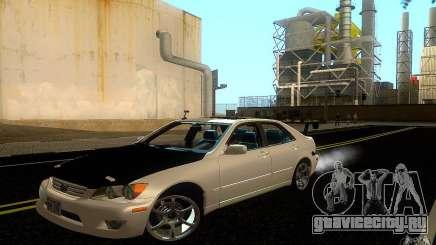 Lexus IS300 Drift белый для GTA San Andreas