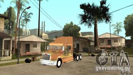 Peterbilt 387 скин 3 для GTA San Andreas