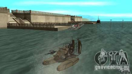 HL2 Airboat для GTA San Andreas