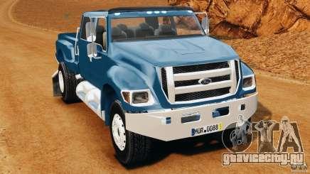 Ford F-650 XLT Superduty для GTA 4