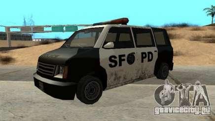 Moonbeam Police для GTA San Andreas