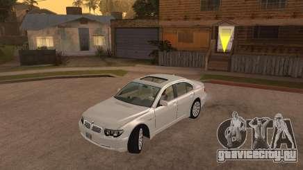 BMW 760I 2002 для GTA San Andreas