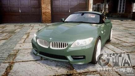 BMW Z4 sDrive35is 2011 v1.0 для GTA 4