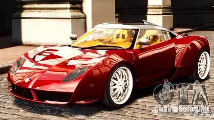 Spyker C12 Zagato 2007 для GTA 4
