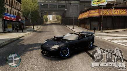 Blue Neon Banshee для GTA 4