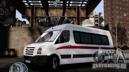 Volkswagen Crafter Turkish Schoolbus для GTA 4