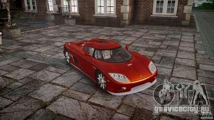 Koenigsegg CCX v1.1 для GTA 4