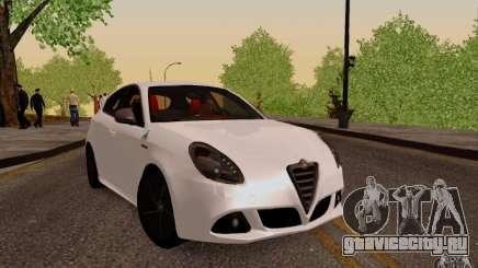Alfa Romeo Giulietta 2010 для GTA San Andreas