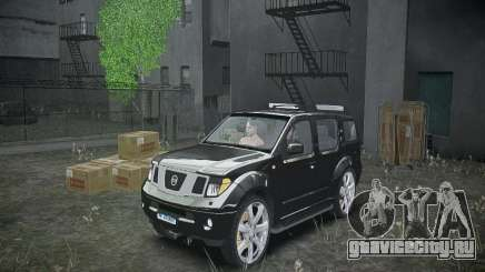 Nissan Pathfinder 2010 для GTA 4