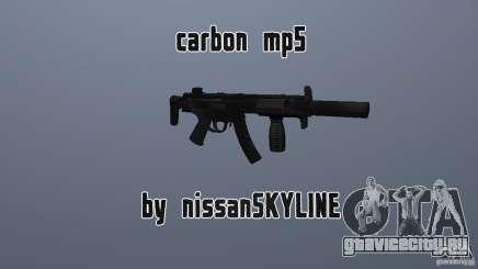 Carbon MP5 с глушителем для GTA San Andreas