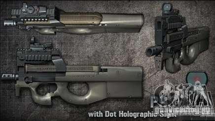 [Point Blank] P90 для GTA San Andreas