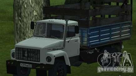 ГАЗ 3309 белый для GTA San Andreas