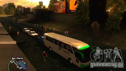 Bus Kramat Djati для GTA San Andreas