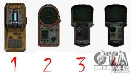 Детектор из S.T.A.L.K.E.R №1 для GTA San Andreas