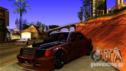 Mercedes Benz 190E - SpeedHunters Edition для GTA San Andreas