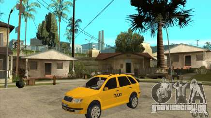 Skoda Fabia Combi Taxi для GTA San Andreas