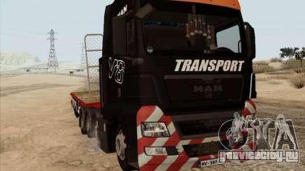 MAN TGX 8x4 для GTA San Andreas