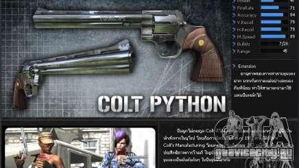 [Point Blank] Colt Python для GTA San Andreas